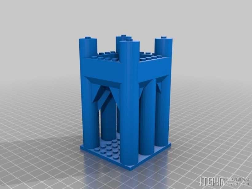 模块化城堡工具包 3D模型  图6