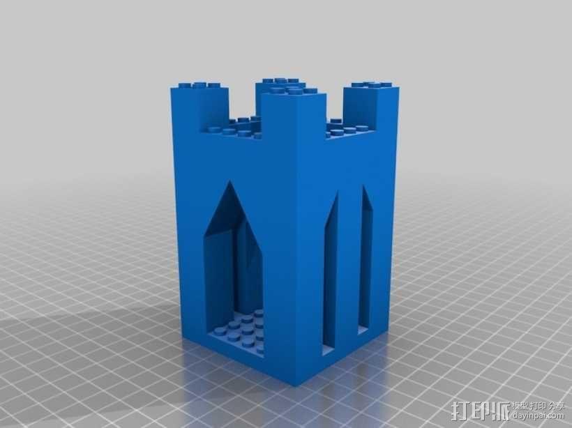 模块化城堡工具包 3D模型  图12