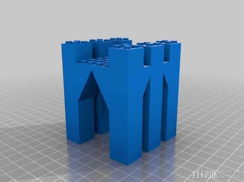 模块化城堡工具包 3D模型  图14
