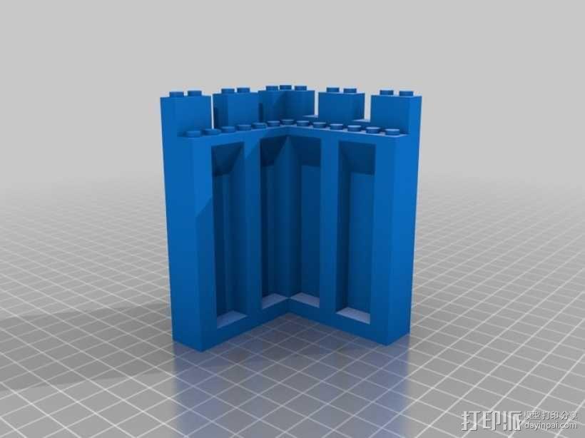 模块化城堡工具包 3D模型  图24