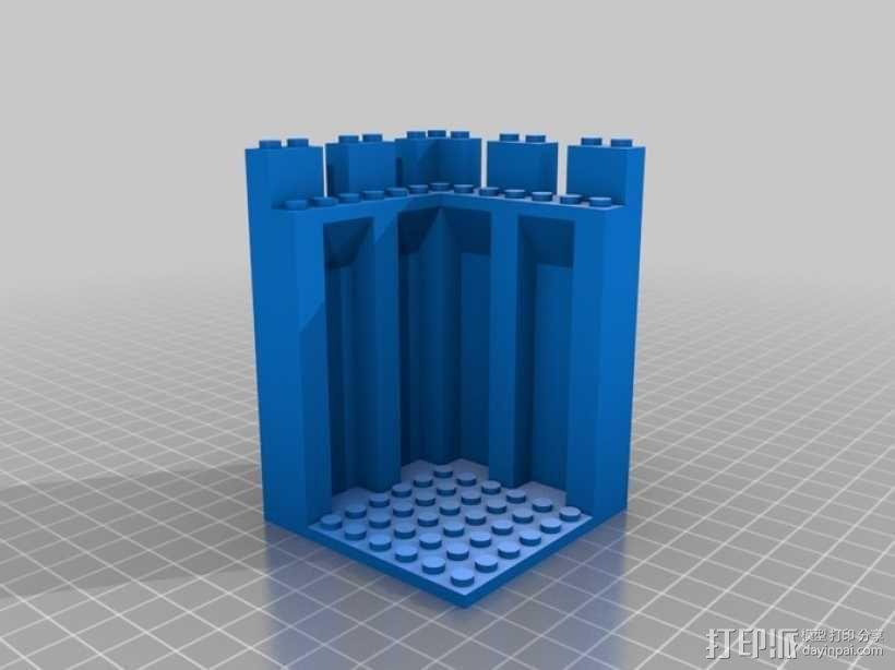 模块化城堡工具包 3D模型  图23