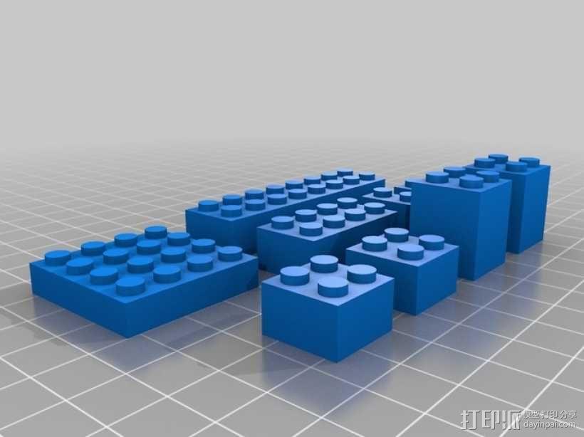 模块化城堡工具包 3D模型  图26