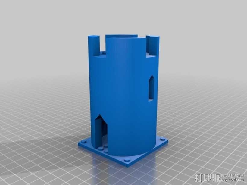 模块化城堡工具包 3D模型  图27