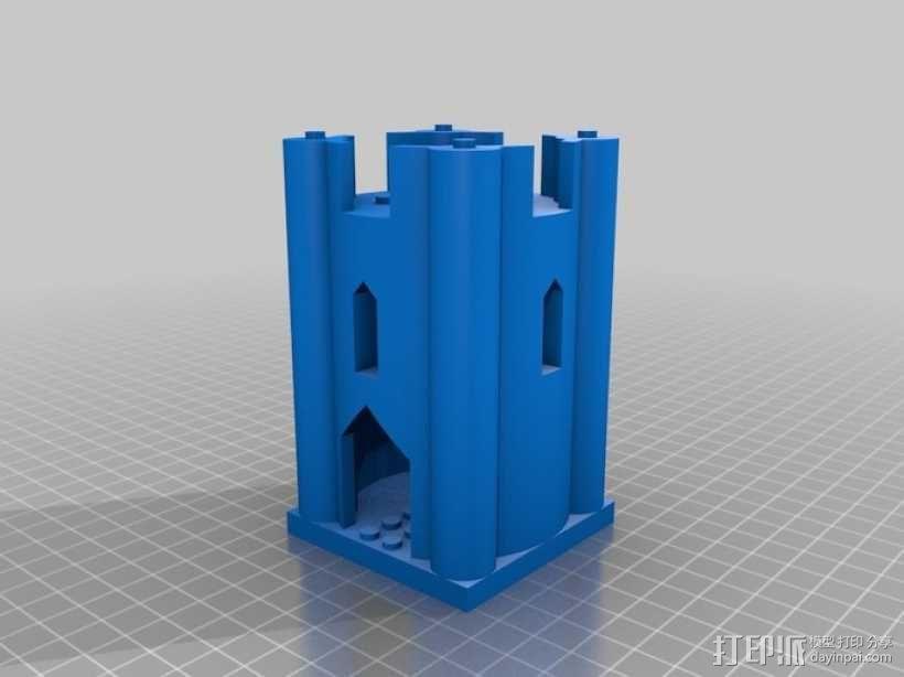 模块化城堡工具包 3D模型  图29