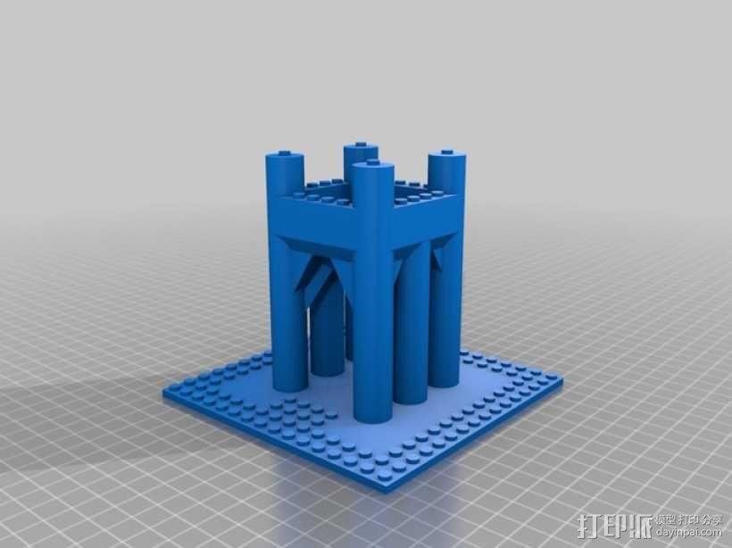 模块化城堡工具包 3D模型  图28