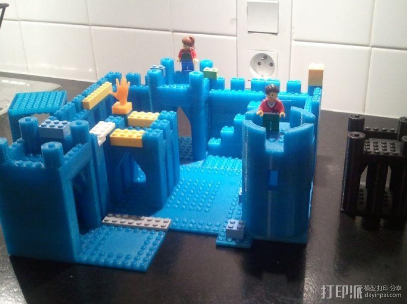 模块化城堡工具包 3D模型  图31