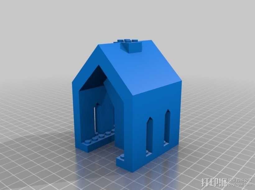 模块化城堡工具包 3D模型  图36