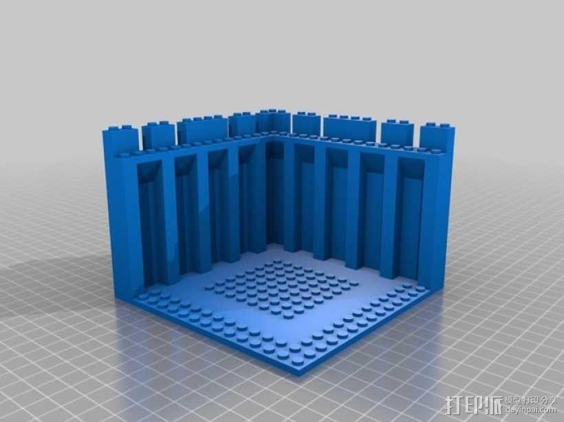 模块化城堡工具包 3D模型  图35