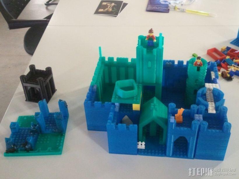 模块化城堡工具包 3D模型  图40