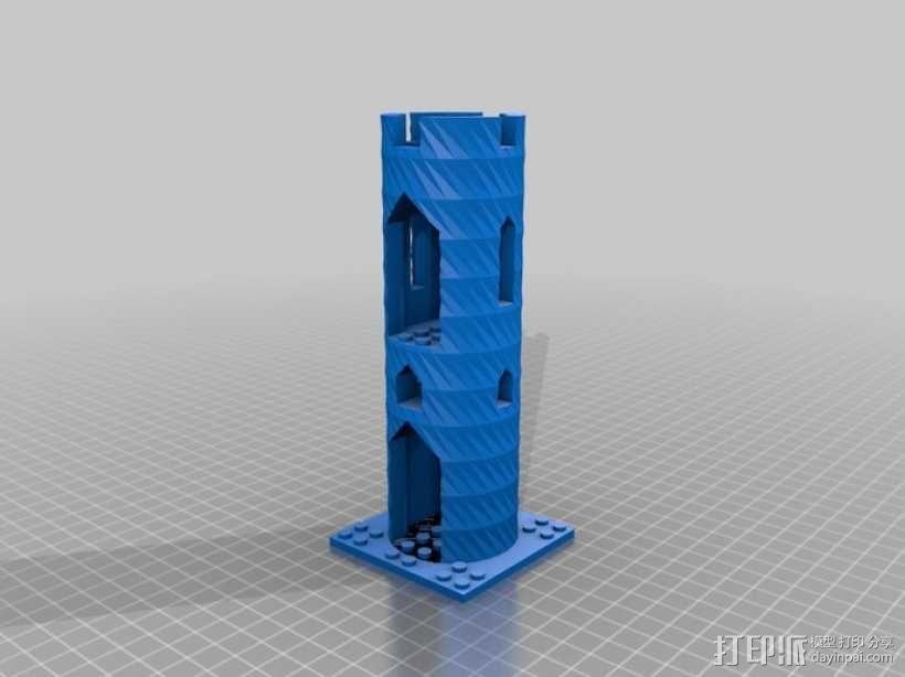 模块化城堡工具包 3D模型  图42