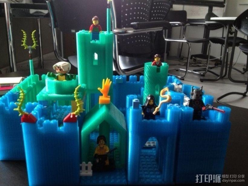 模块化城堡工具包 3D模型  图41