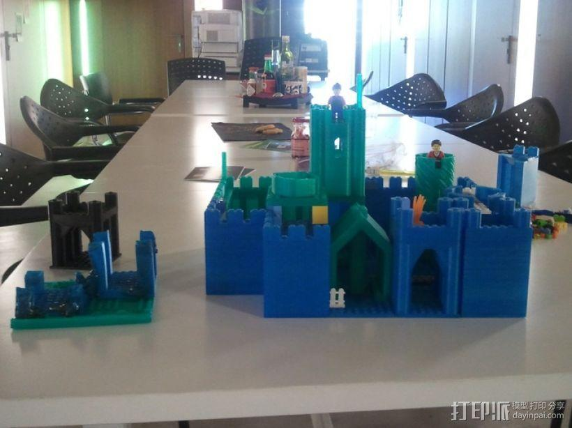 模块化城堡工具包 3D模型  图39