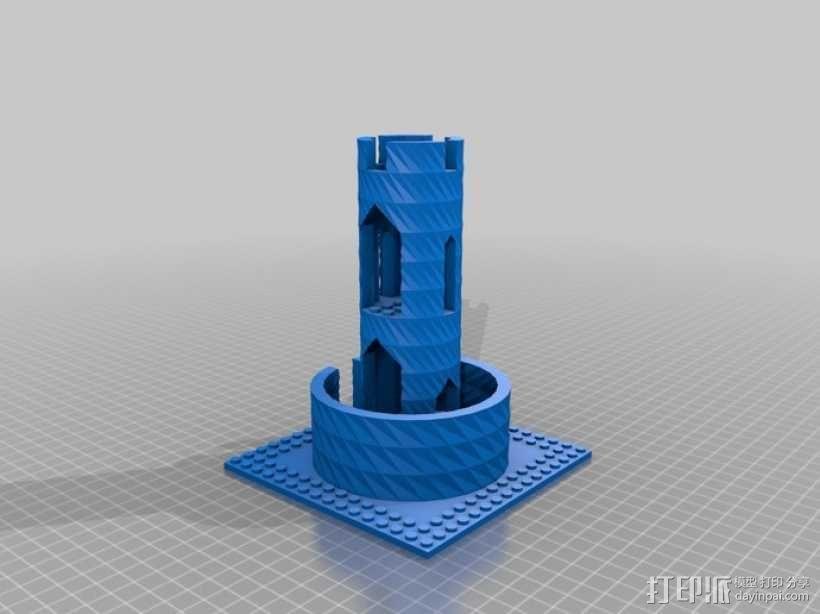 模块化城堡工具包 3D模型  图43