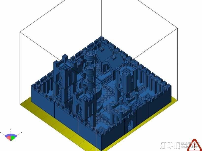 模块化城堡工具包 3D模型  图45