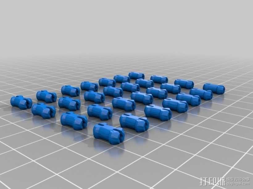 Rubik关节蛇 3D模型  图9