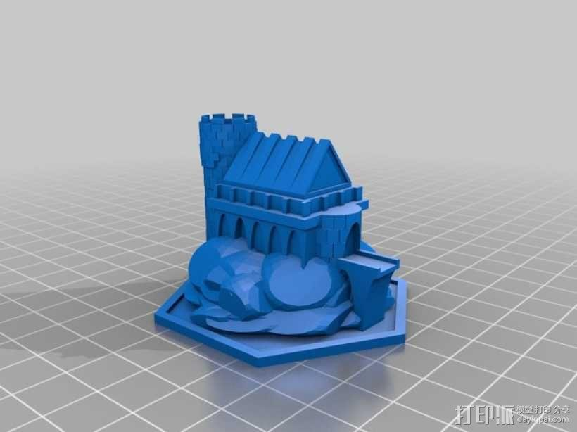 游戏《Ill Gotten Games》魔法基地 3D模型  图1