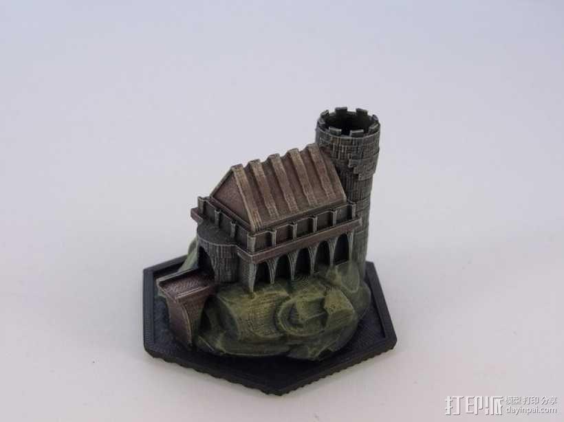 游戏《Ill Gotten Games》魔法基地 3D模型  图4