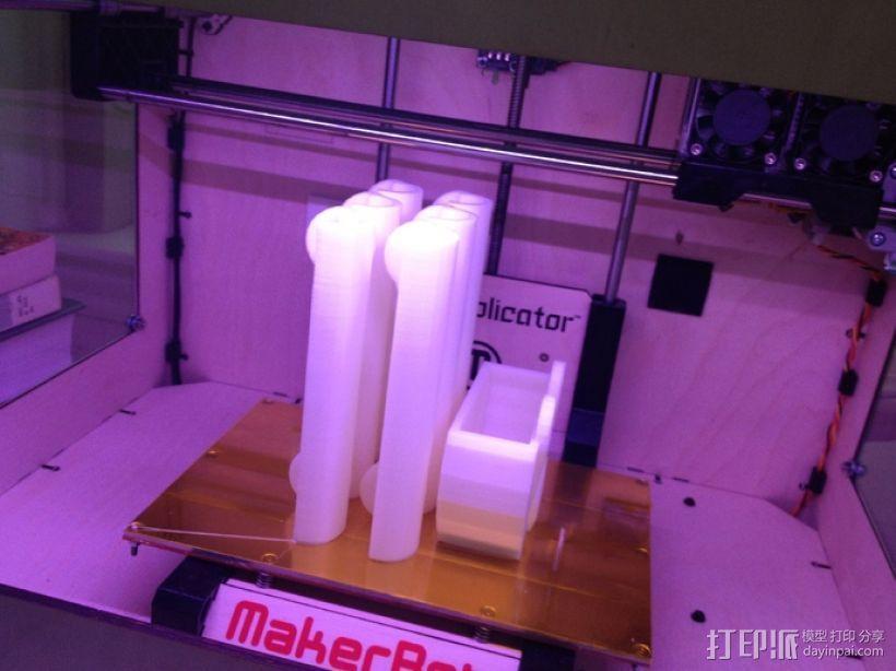 冰箱上使用的磁铁 3D模型  图3
