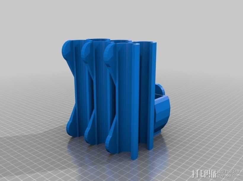 冰箱上使用的磁铁 3D模型  图4