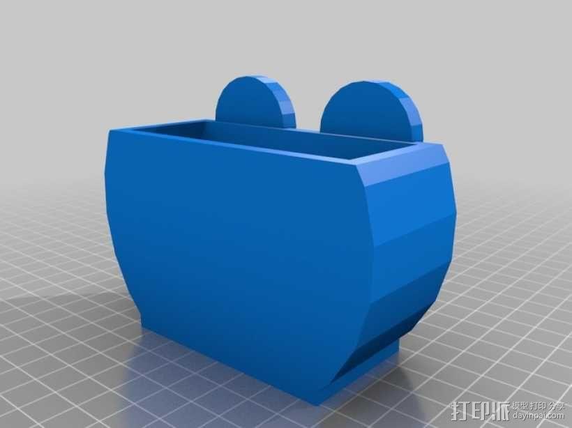 冰箱上使用的磁铁 3D模型  图7