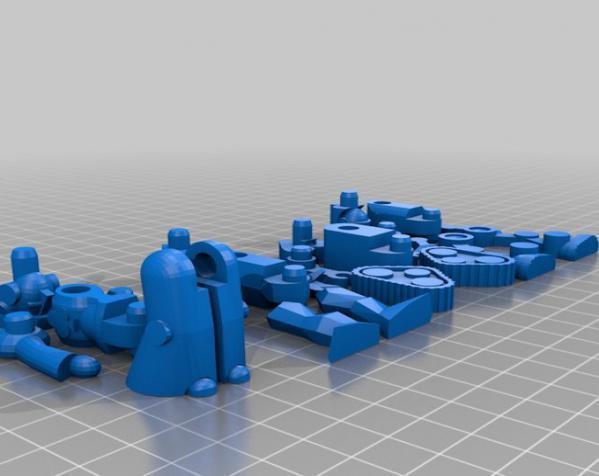 机器人模型 3D模型  图1