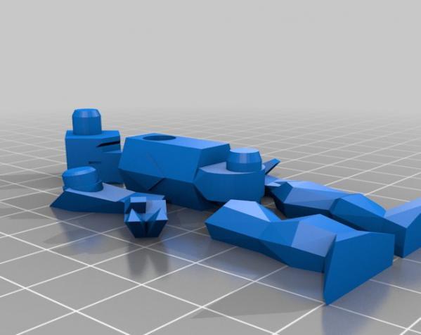 机器人模型 3D模型  图3