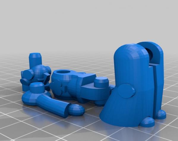 机器人模型 3D模型  图2