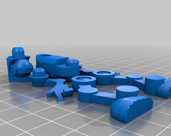 机器人模型 3D模型  图6