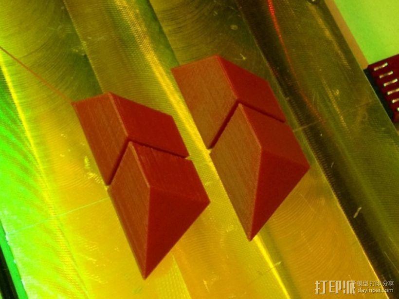 拼装金字塔 3D模型  图1