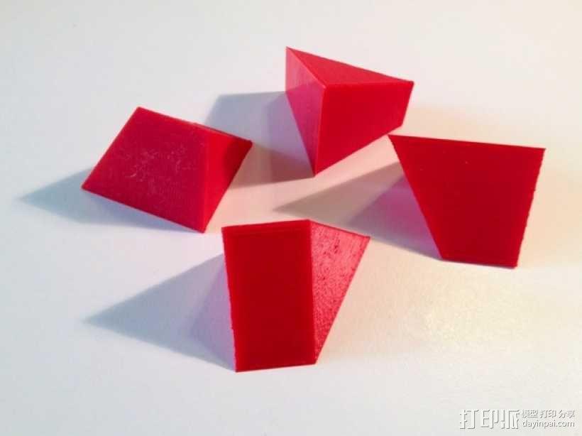拼装金字塔 3D模型  图2