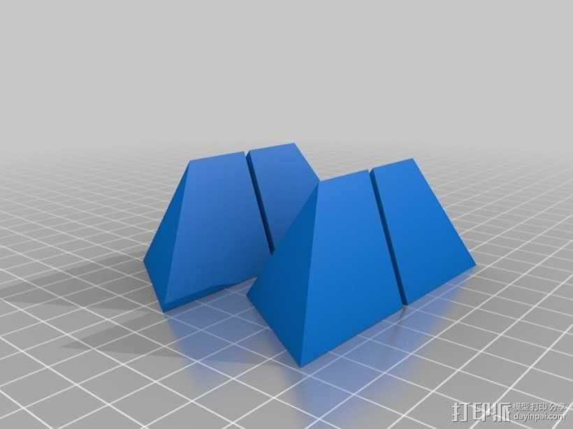 拼装金字塔 3D模型  图3