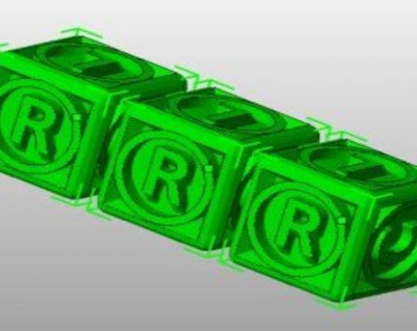 游戏骰子模型 3D模型  图1