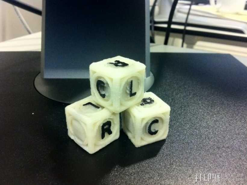 游戏骰子模型 3D模型  图2