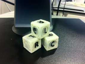游戏骰子模型 3D模型