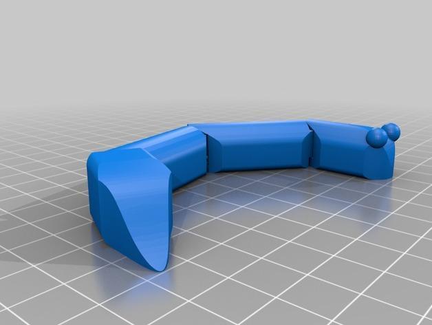 关节蛇 3D模型  图1