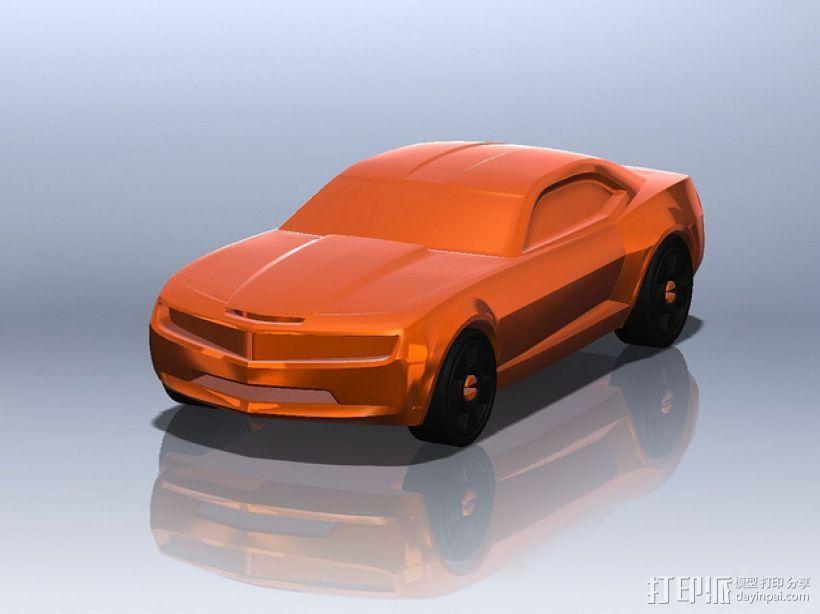 雪佛兰2010 3D模型  图1