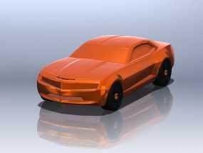 雪佛兰2010 3D模型
