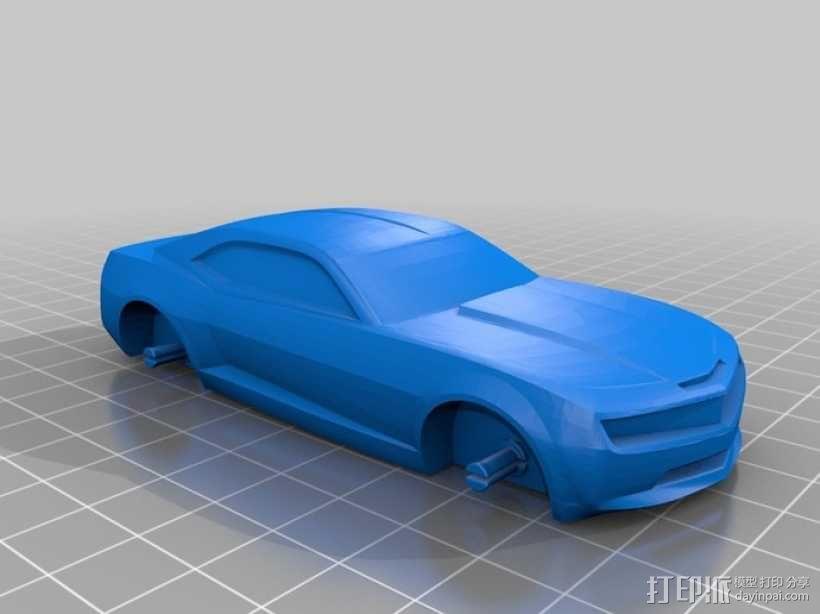 雪佛兰2010 3D模型  图5