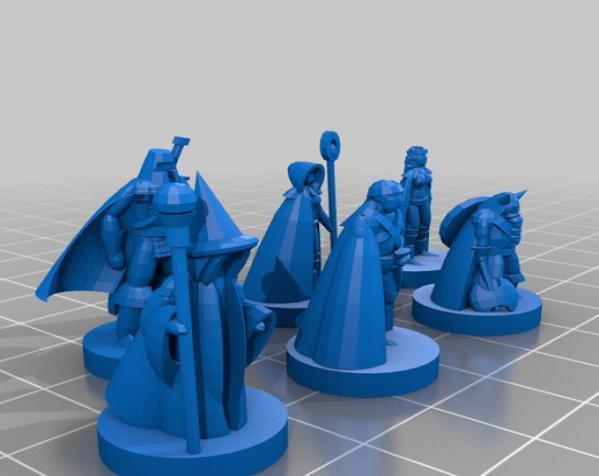 《Pocket-Dungeons》冒险游戏 3D模型  图2