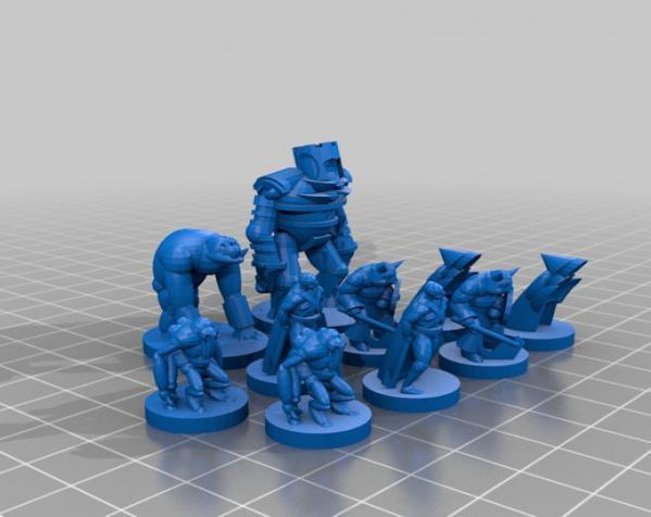 《Pocket-Dungeons》冒险游戏 3D模型  图3