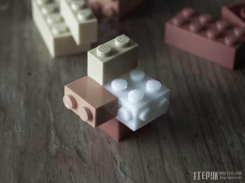 玩具砖块 3D模型  图3