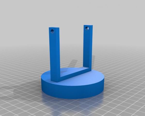 蝙蝠形信号灯 3D模型  图3
