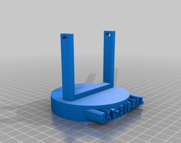 蝙蝠形信号灯 3D模型  图4