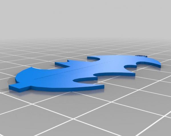 蝙蝠形信号灯 3D模型  图5