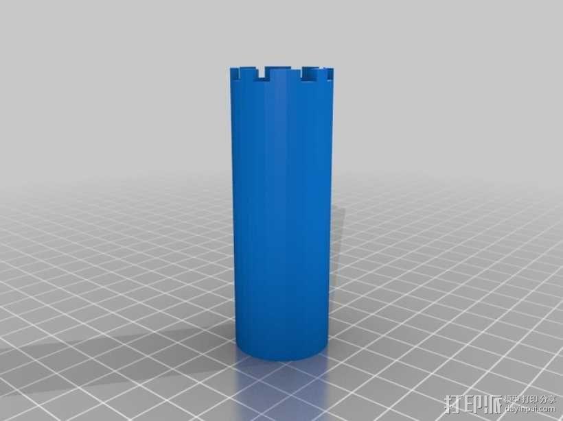 桶状象棋 3D模型  图6