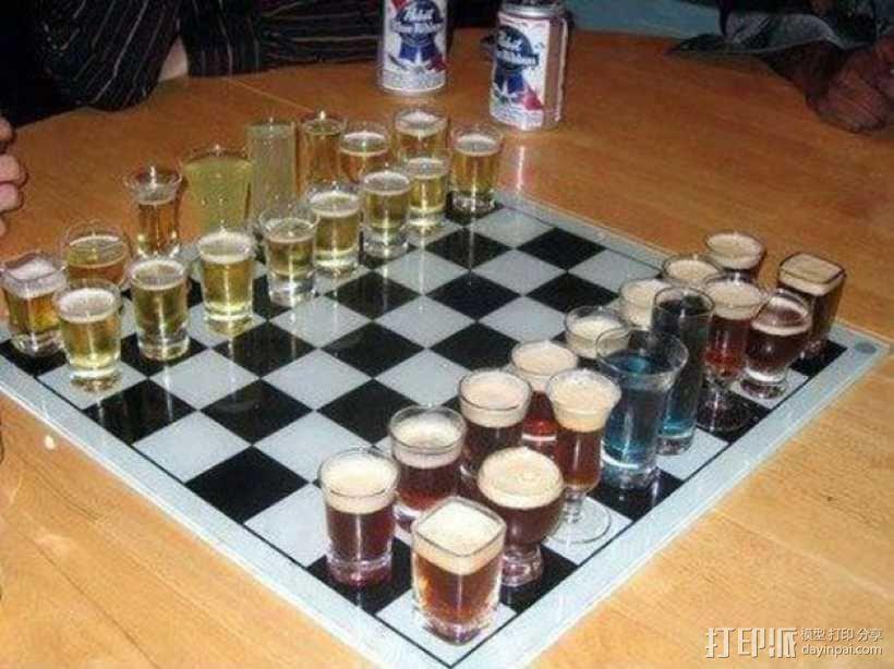 桶状象棋 3D模型  图13