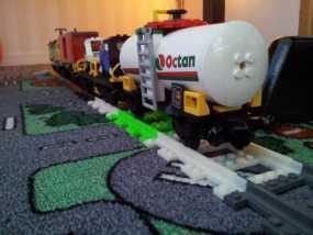 乐高玩具火车车轨 3D模型