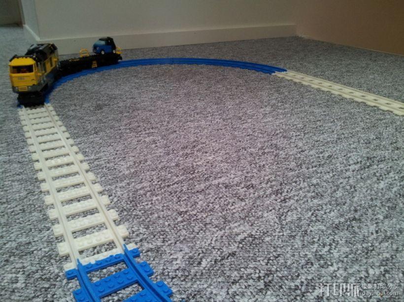乐高玩具火车车轨 3D模型  图5