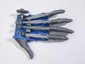 机械手 3D模型