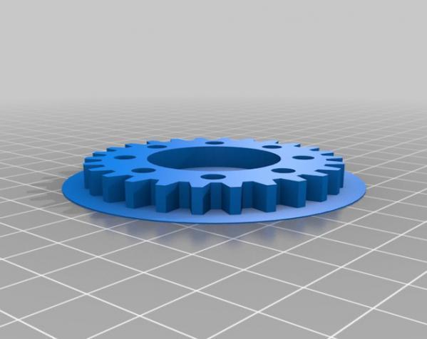 电动滑冰装置 3D模型  图4